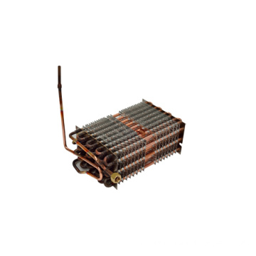 display cabinet copper condenser coil