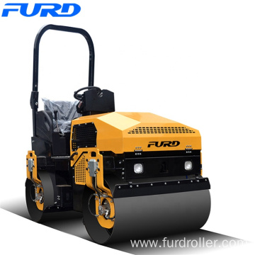 Factory Sell Ride-on Double Drum Road Roller (FYL-1200)