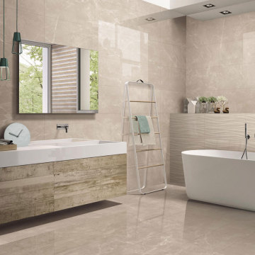 Large format porcelain wall tiles panels