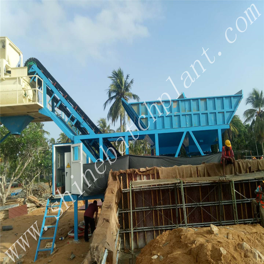 Protable Mixer Plant