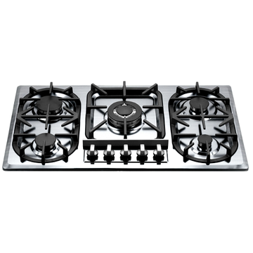 5 Burners Natural Gas Hob