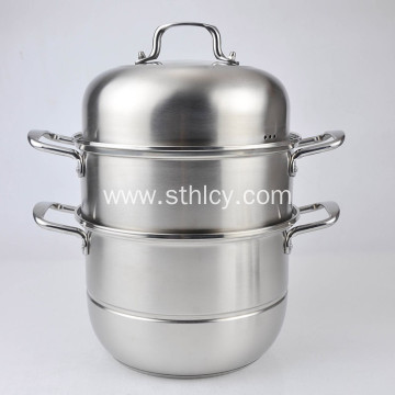 2-Layer Stainless steel Steamer