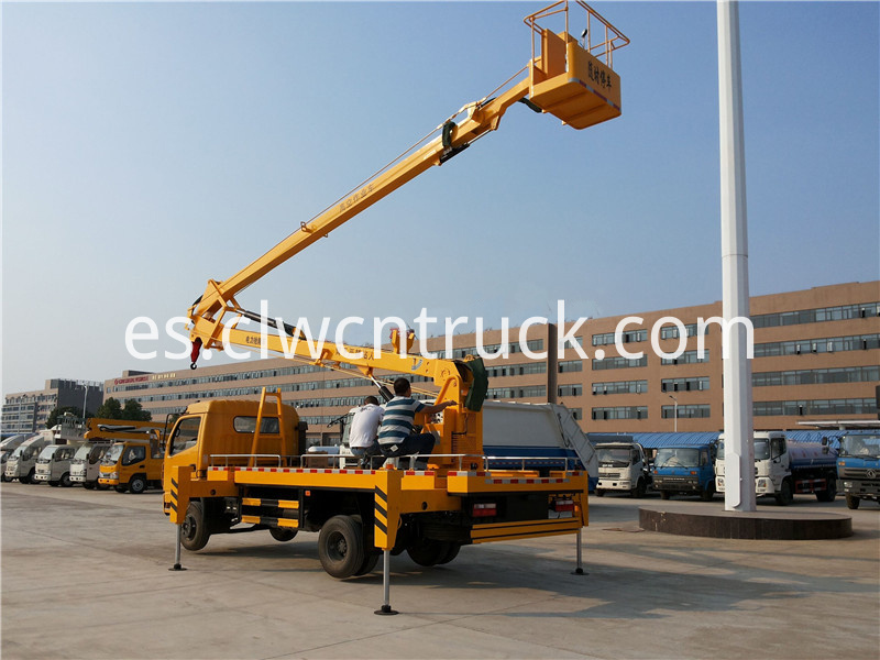 aerial working truck for sale 2