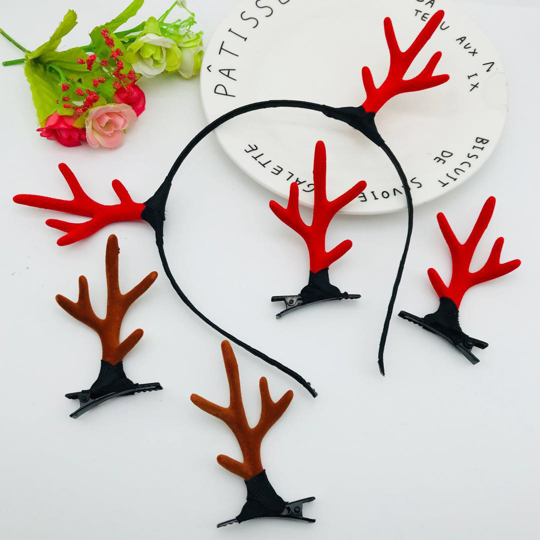 Christmas decoration hairpin headband buckle for adult children (8)