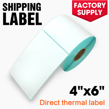 ZEBRA thermal label 4x6 adhesive shipping label