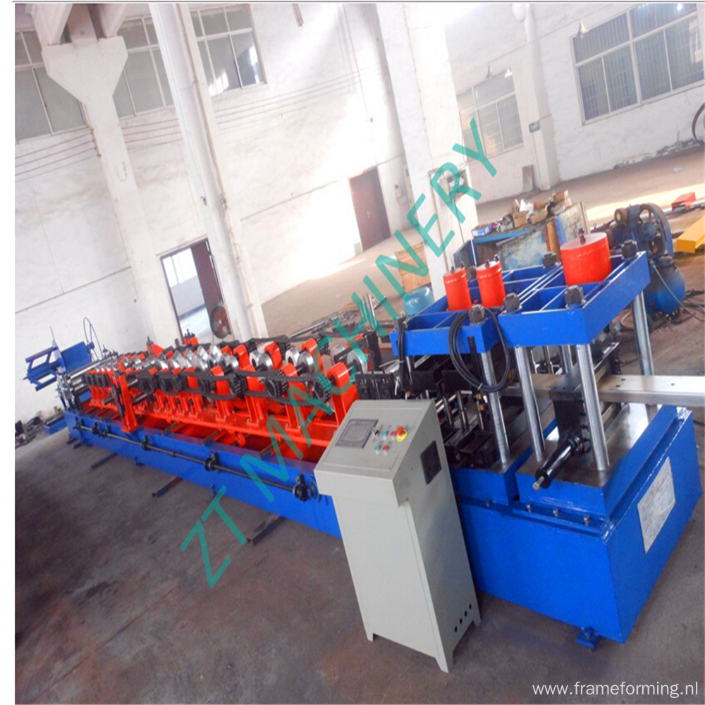 Zhongtuo Quick Change C75-300 Purlin Roll Forming Machine