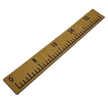Light Teak & Black Boat EVA Foam Fish Ruler