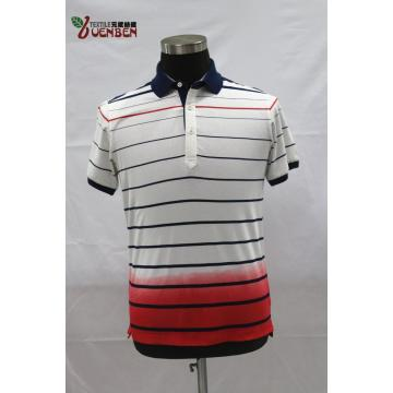 YD Stripe Jersey With Dip-Dye Polo