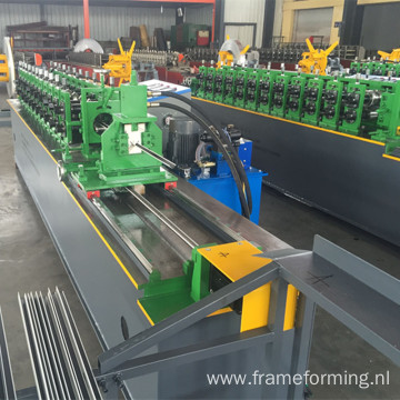 L wall angle roll forming machine