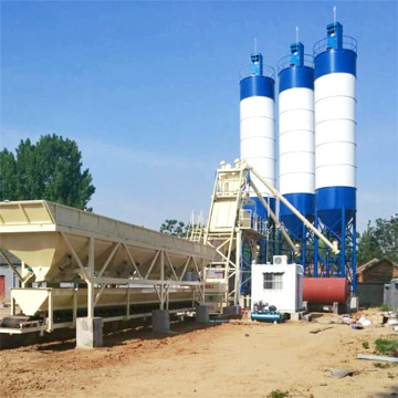 Electric new technology 25m3 modular concrete batching plant