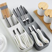 Kitchen Cutlery Storage Tray Kitchen Knife holder Organizer Kitchen Container Spoon Fork Storage Separation Knife Block Holder