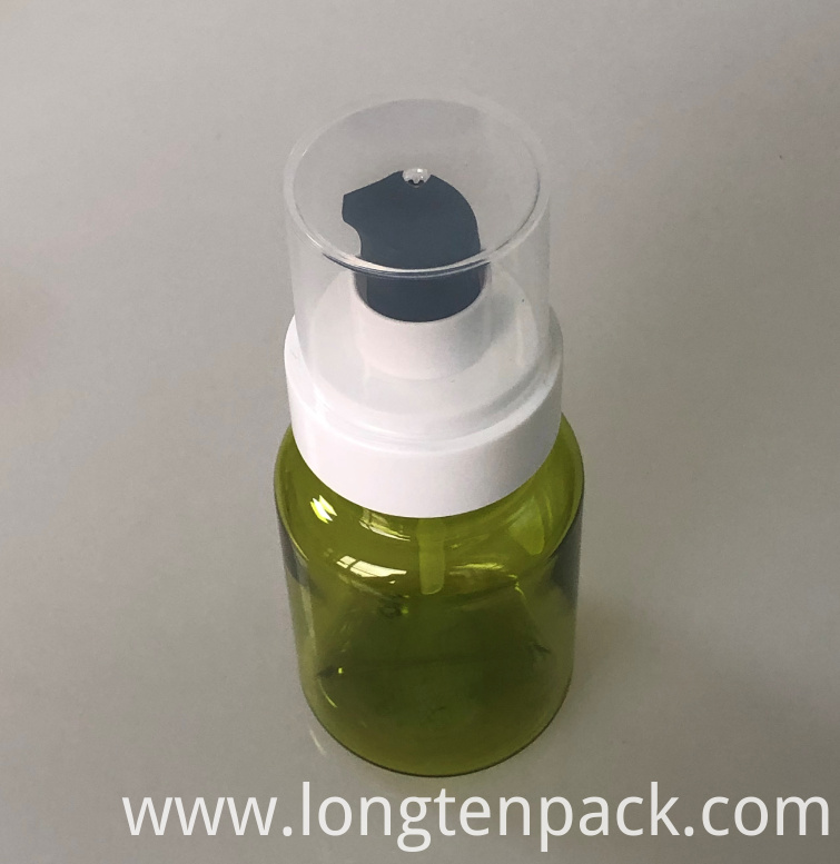 130ml PETG round plastic bottle