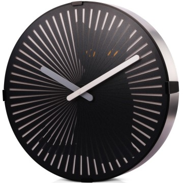 Funny Motion Cat Wall Clock con cola en movimiento