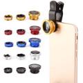 3 In 1 Wide Angle Macro Fish Eye Lens Camera Kits Universal Smartphone Fisheye Lenses For iPhone Samsung Huawei Xiaomi Oneplus