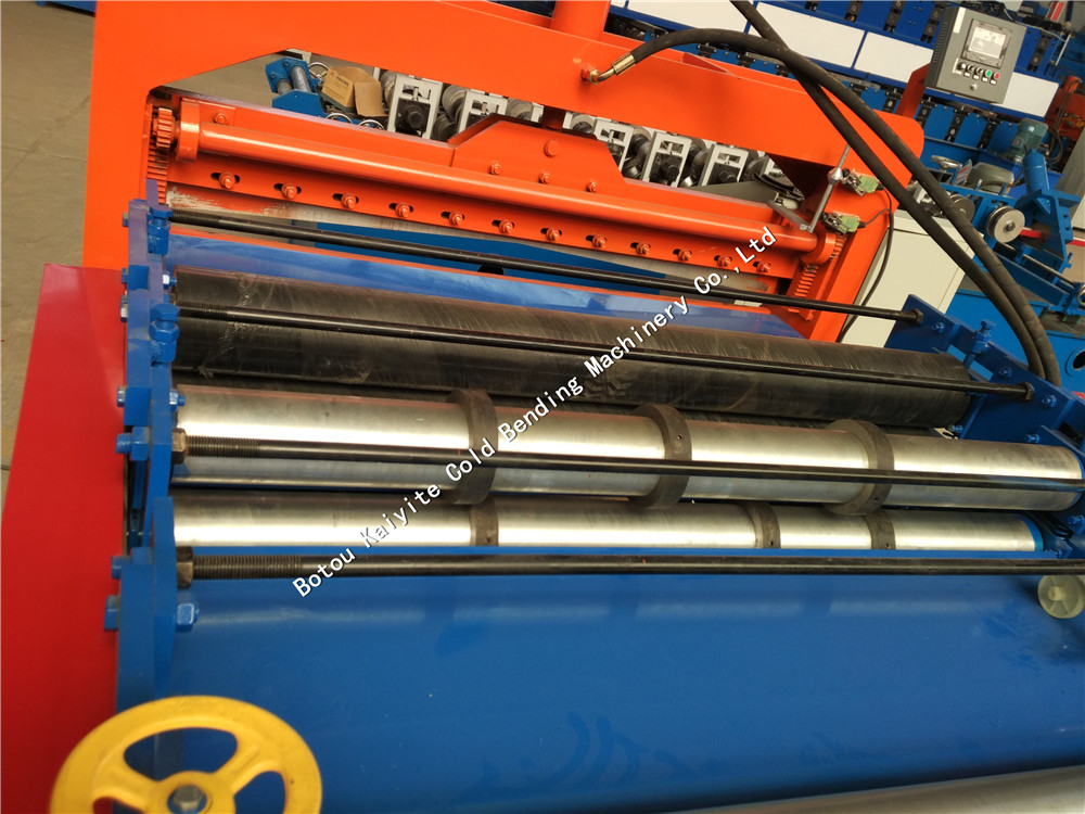Flat sheet slitting and cutting machine