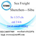 Shenzhen Port Sea Freight Shipping To Sibu