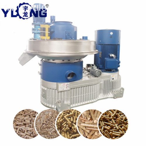 Yulong rice husk plate making machine