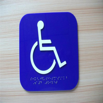 Custom ADA Braille Directional Exit Signs