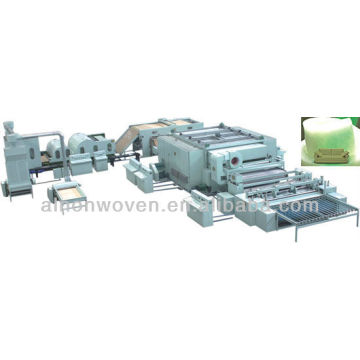 new style thermal bonded wadding production line