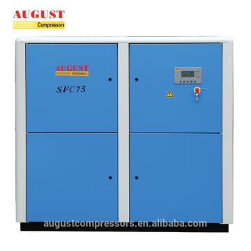 AUGUST 75kw 100hp VSD Low Speed Air Compressor