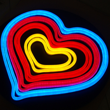 HEART lan LOVE NEON LIGHT SIGNS