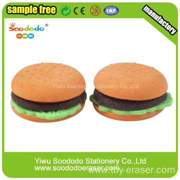 Hamburger  ECO-TPR Wholesale Eraser Sets