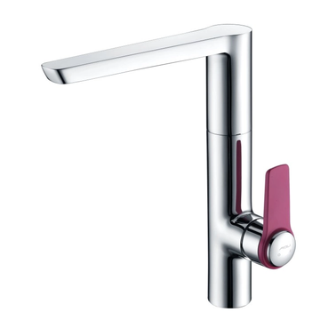 Sink Mixer with single pink handle