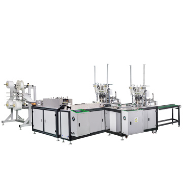 Full-automatic flat mask making machine