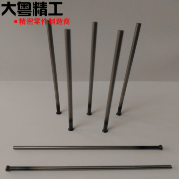 High-quality ejector pins DIN 1530 shape HSS manufacturing