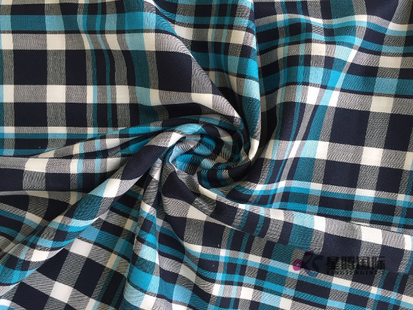 Yarn Dyed Plaid Material For Shirt