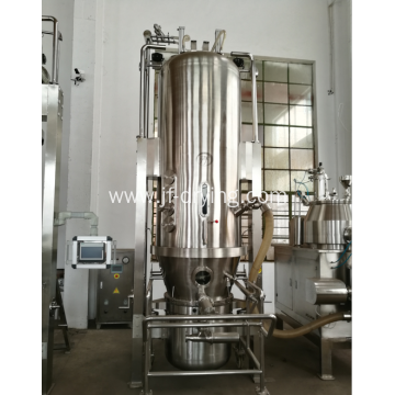 Fluid bed powder and granules mixing with drying machine