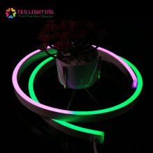 Vivid programmable DMX RGB Neon LED Strip