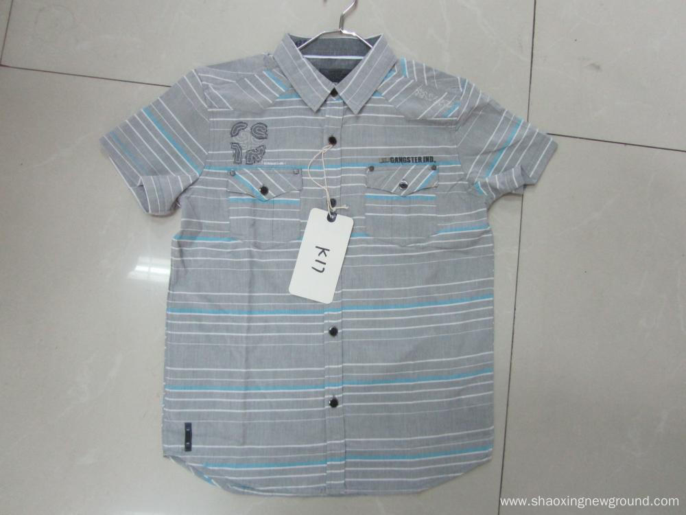 Short-sleeve cotton shirts men's shirts