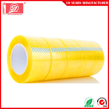 Machine transparent Carton sealing bopp transparent adhesive tapes