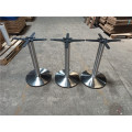 stainless steel round table frame base