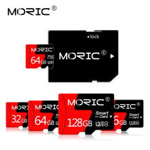 Newest Moric Class 10 Micro SD 64GB 128GB 256GB TF Cards microsd 4GB 8GB sd card 128GB 16GB 32GB Memory card for phone and PC