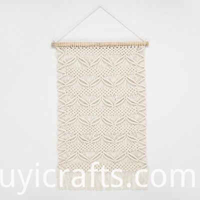 over bed macrame