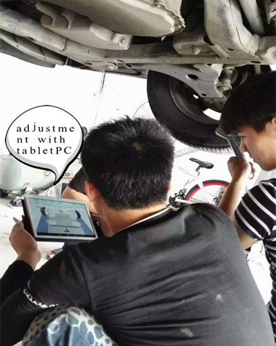 Four Wheel Alignment Instruction
