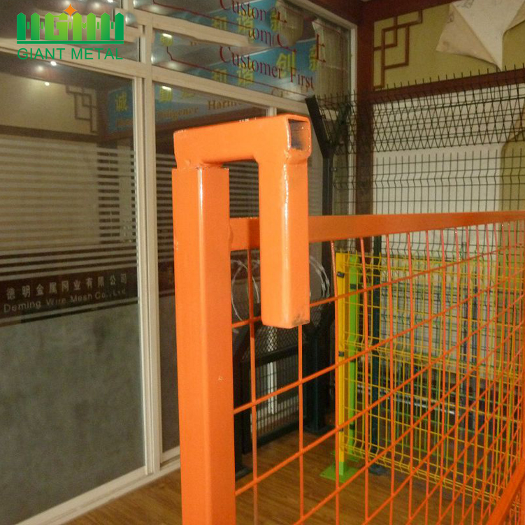Retractable Safety Construction Temporary Fence Panel