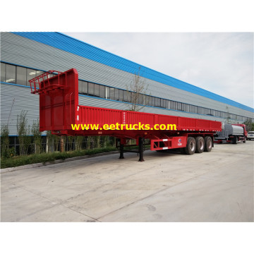 40 Ton Side Wall Box Cargo Trailers
