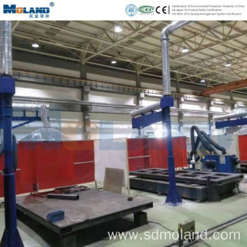 Central Fume Extraction System for Welding Smoke