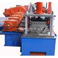 Automatic w beam crash barrier machine