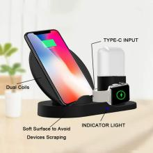 3 in 1 10W Wireless Charging Stand