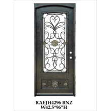 Contemporary Wrought Iron Doors