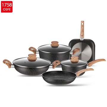 Best Aluminum Marble Coating Cookware Set