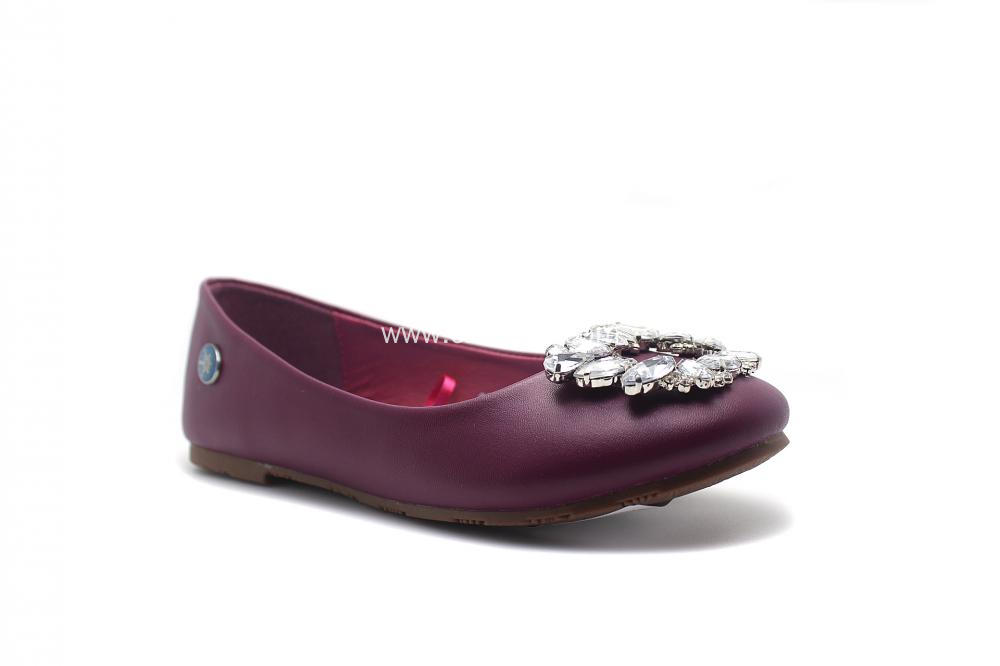 Children's Square diamond buckle Ballet Shoes
