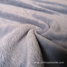 Cheap Polyester Coral Fleece Fabric For Blankets
