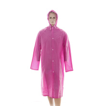 ECO-Friendly PEVA raincoat for travelling