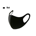 Black full thermal washable cotton mask