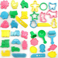 Modeling Clay Tools Molds 36PCS DIY Model Toys Lasunes Sliming Plasticine Playdough Children Gift Toy Kids Air Dry Slimes Tools